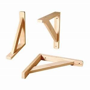 Etagere Murale Triangle : querre en pin util castorama ~ Teatrodelosmanantiales.com Idées de Décoration
