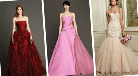 Wedding Dresses Pink And White (update February)