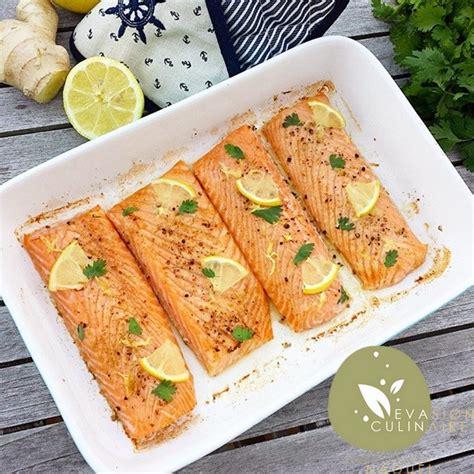 cuisiner du saumon au four saumon au citron et gingembre