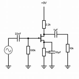 building jfet preamplifiers for musical instrument use With jfet bipolar cascode circuit diagram