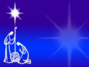 Nativity Quality Backgrounds For Powerpoint Templates
