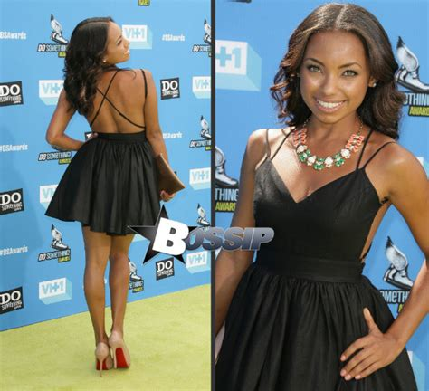 Hit The Floor Cast Asha by Taylour And Logan Browning At The Vh1 Do Something