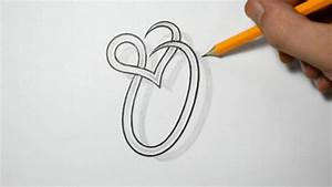 Letter O Tribal Drawing - Graffiti Arts Library