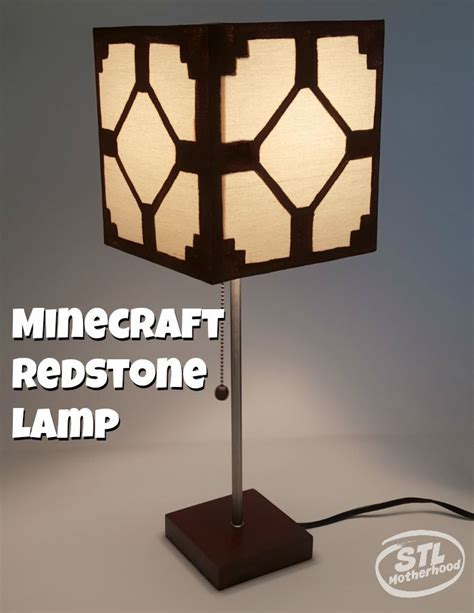 Minecraft Bedroom Light by Real Minecraft Redstone L For Your Kid S Room Best Of