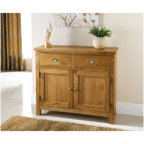 Oak 2 Door Sideboard by Wiltshire 2 Door 2 Drawer Oak Sideboard Furniture B M