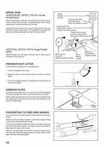 Singer 7462 Sewing Machine Instruction Manual