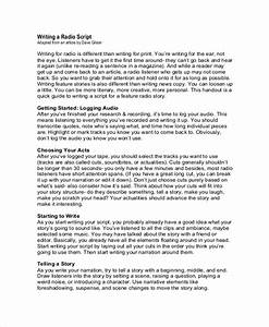 Free 8  Sample Script Writing Templates In Pdf