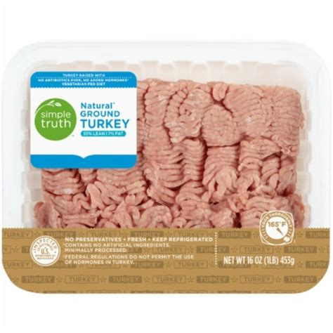 These tests cannot distinguish between type 1 and type 2 diabetes. Simple Truth Natural Ground Turkey From Kroger in Dallas ...