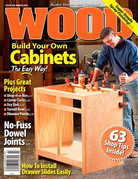 wood issue  march  woodworking plan  wood magazine