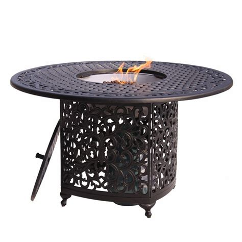patio propane fire pit table dining table patio fire pit dining table