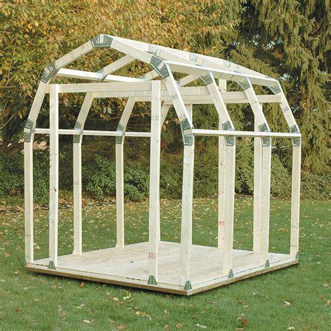 barn style shed kits 2x4 basics diy shed kit barn roof style chkadels