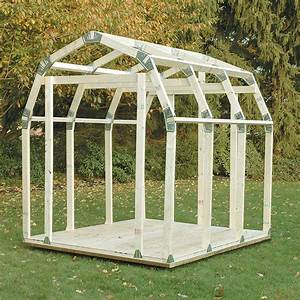 2x4 basics diy shed kit barn roof style budkcom for Barn roofing cost