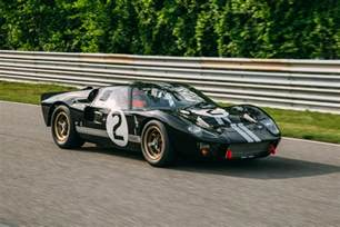 restored le mans winning  ford gt unveiled  le mans