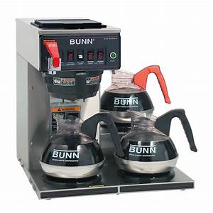 Bunn Coffee Maker Commercial Instructions
