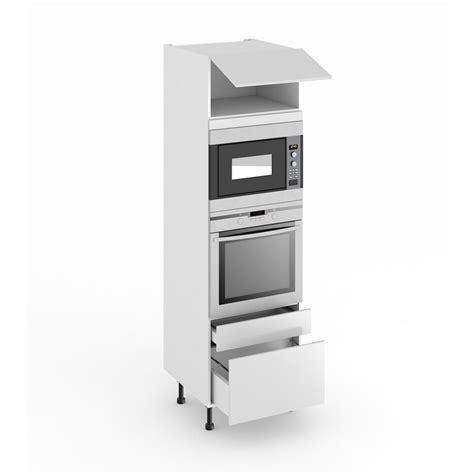 colonne de cuisine pour four et niche de h 45 cm cuisine