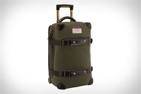 Burton Wheelie Flight Deck Travel Bag by Filson X Burton Wheelie Flight Deck Bag