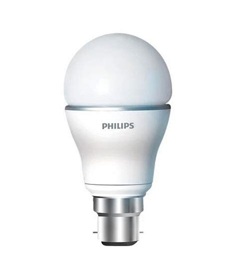 philips led bulb 5 w b22 cool day light buy