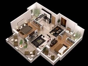 Detailed, Floor, Plan, 3d, 3d, Model, Max, Obj