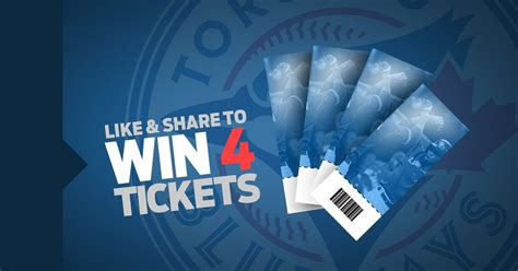 Win 4 Free Tickets To The Toronto Blue Jays Excalibur