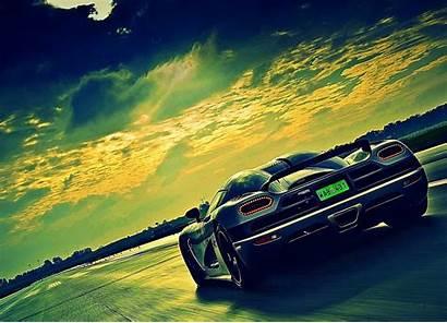 Wallpapers Desktop Unique Highway Background Backgrounds Koenigsegg