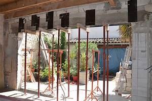 Ouverture Dans Un Mur Porteur : cr ation d 39 une ouverture dans un mur travaux renovation ~ Melissatoandfro.com Idées de Décoration