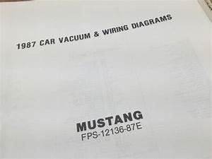 1987 Ford Mustang Car Vacuum  U0026 Wiring Diagrams