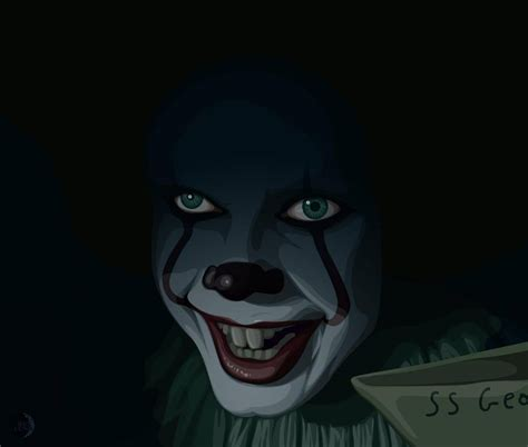 Background Digital Pennywise Clown Pennywise Wallpaper by It Pennywise By Rexpluna On Deviantart