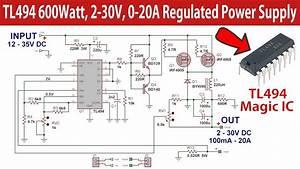 Tl494 600watt Regulated Switch Mode Power Supply 2