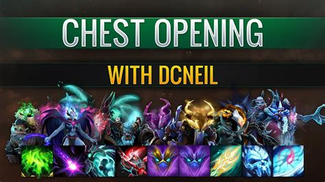 dota  ti immortal treasure  opening  neil