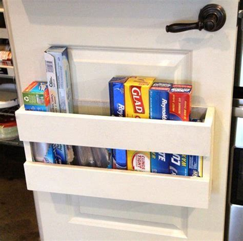 Weekend Project A Diy Door Organizer For Foil And Plastic