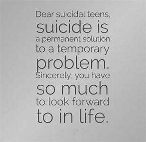 Anti Suicide Quotes Beautiful. QuotesGram