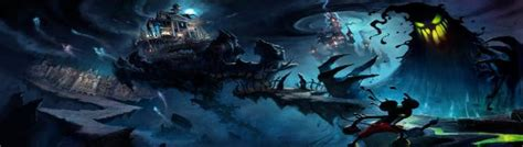 Gorgeous New Epic Mickey Concept Art Released Vg247
