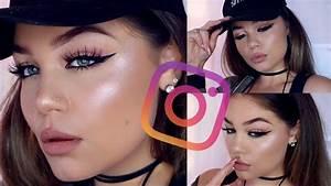 "Instagram ""Baddie"" Makeup Tutorial | Blissfulbrii - YouTube"