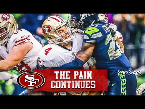 ers lose  seahawks whos  blame youtube