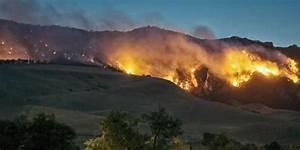 Rock Creek Fire Destroys Buildings  Leaves Trees  U0026 39 Bursting