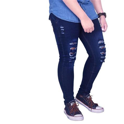celana pendek sobek fashion cowok terbaru smart4k design