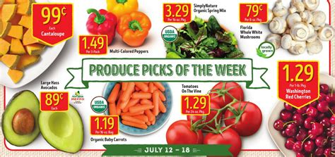 Great Produce Deals And More