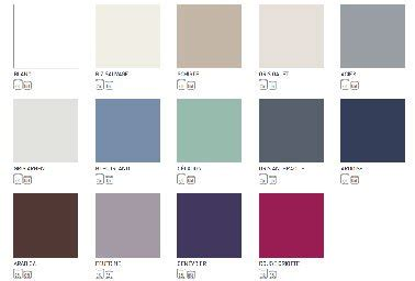 papier peint pour chambre à coucher nuancier peinture carrelage sol tollens 13 couleurs et blanc