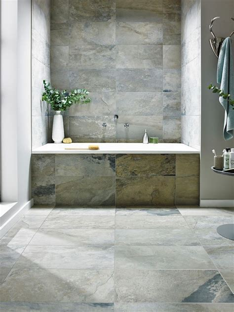 Best 20  Slate tile bathrooms ideas on Pinterest