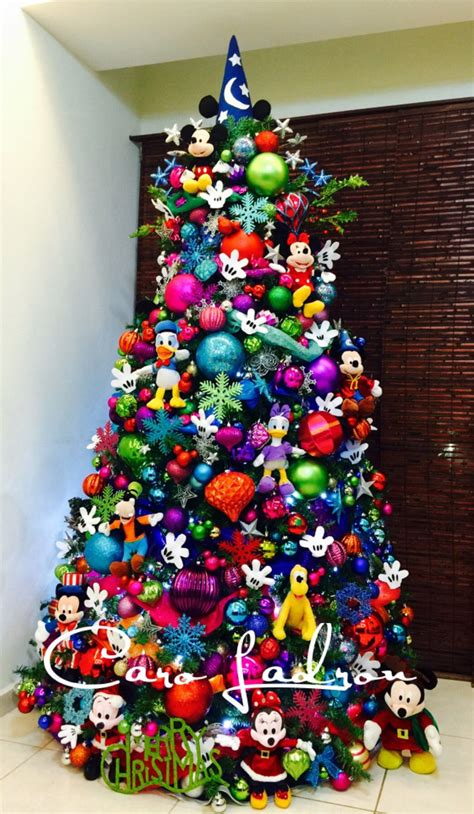 creative kids christmas trees mickey