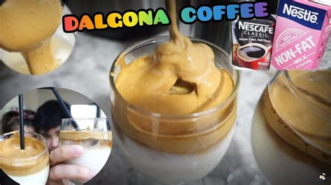 While we are staying home, this dalgona coffee has taken over the internet. DALGONA COFFEE AT HOME! WITHOUT MIXER| 3 INGREDIENTS ONLY! - YouTube