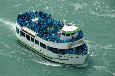 Niagara Falls Boat Ride Winter by Taketours Announces Of The Mist End Of Season Specials