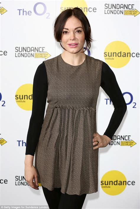 Rose McGowan promotes her new movie at Sundance London ...