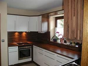 beautiful arbeitsplatte kuche nussbaum pictures home With arbeitsplatte nussbaum