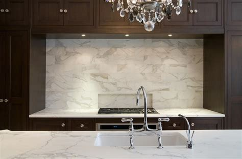 marble tile kitchen backsplash calcutta gold marble backsplash contemporary kitchen meyer davis studio