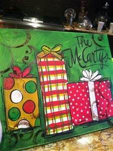 1000 images about Art paint party Christmas on
