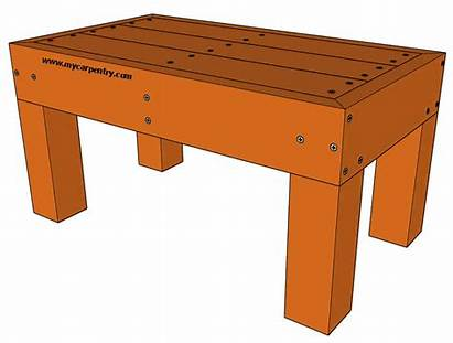Deck Bench Plans Mycarpentry Benches Dimensions Designed