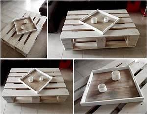Table En Palette : do it yourself la table basse en palette bull 39 elodie ~ Melissatoandfro.com Idées de Décoration