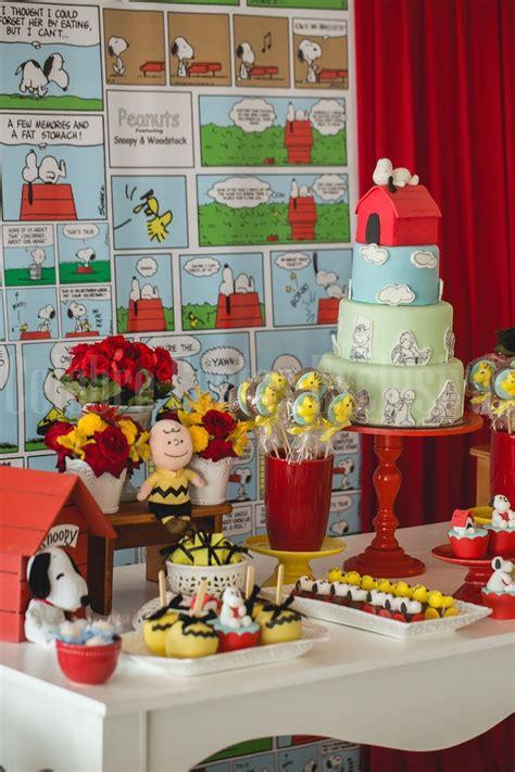 Kara's Party Ideas Snoopy Themed Birthday Party