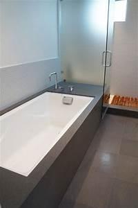 Sleek Undermount Tub Modern Bathroom San Francisco